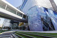 Central Embassy is Bangkok's newest swank mall, filled with designer outlets, high end dining spots and a comfortable luxury cinema.  Built on former British Embassy grounds, for which its named, it is unclear whether or not it will be a success, as the immediate area already has several luxury malls with similar outlets.