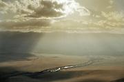 Landscape in Mongolia.