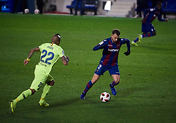 January 10, 2019 - Valencia, U.S. - VALENCIA, SPAIN - JANUARY 10: Borja Mayoral, forward of Levante UD in action with the ball during the Copa del Rey match between Levante UD and FC Barcelona at Ciutat de Valencia on January 10, 2019 in Valencia, Spain. (Photo by Carlos Sanchez Martinez/Icon Sportswire) (Credit Image: © Carlos Sanchez Martinez/Icon SMI via ZUMA Press)