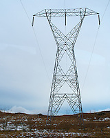 High Voltage Power Line in Southeastern Iceland. Image taken with a Leica X2 camera (ISO 100, 24 mm, f/4.5, 1/1000 sec).
