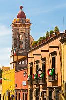 Street scene, San Miguel de Allende, Guanajuato State, Mexico