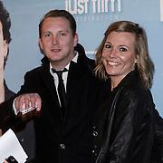 NLD/Amsterdam/20150119 - Premiere film Homies, Geert Smid en partner
