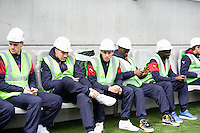 Equipe Bordeaux - Banc de Touche - 23.03.2015 - Visite du Stade de Bordeaux -<br /> Photo : Caroline Blumberg / Icon Sport *** Local Caption ***