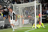 Esultanza Gol Mario Mandzukic Juventus Goal Celebration <br /> Torino 09-05-2017 Juventus Stadium Football Calcio Champions League 2016/2017 semifinal Juventus - Monaco . Foto Filippo Alfero Insidefoto
