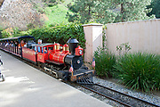 Miniature Railroad, Travel Town, Griffith Park, Los Angeles, California, USA