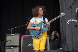 The View play the main stage on Sunday at the TRNSMT music festival, Glasgow Green.