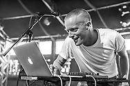 American hip-hop artist Andy Bothwell aka Astronautalis at Haldern Pop Festival