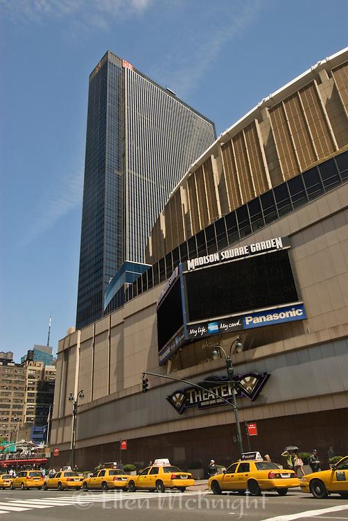 Madison Square Garden in Manhattan