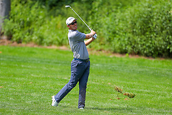 August 26, 2018 - Paramus, NJ, U.S. - PARAMUS, NJ - AUGUST 26:   Seamus Power of Ireland plays from off the 17th fairway during the final round of The Northern Trust on August 26, 2018 at the Ridgewood Championship Course in Ridgewood, New Jersey. (Photo by Rich Graessle/Icon Sportswire) (Credit Image: © Rich Graessle/Icon SMI via ZUMA Press)