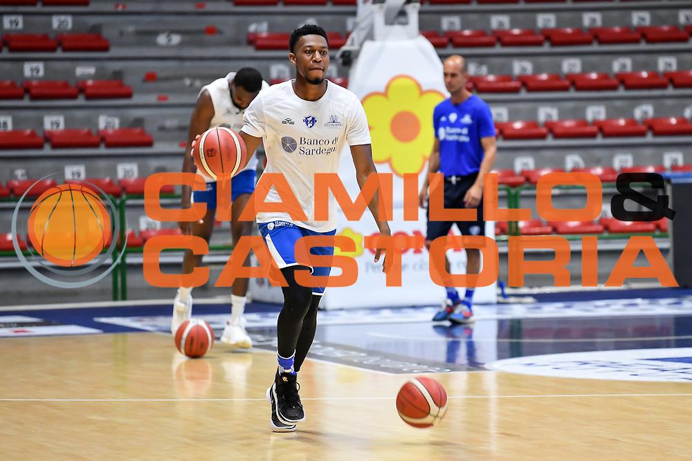 Tyus Battle<br /> Allenamento Banco di Sardegna Dinamo Sassari<br /> LBA Legabasket Serie A 2021-2022<br /> Sassari, 12/08/2021<br /> Foto L.Canu / Ciamillo-Castoria