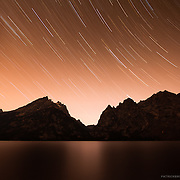 Timelapse and astronomy photography of Jenny Lake and the Cascade Canyon in the Grand Teton National Park.