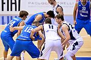 DESCRIZIONE : Trieste Nazionale Italia Uomini Torneo internazionale Italia Bosnia ed Erzegovina  Italy Bosnia and Herzegovina<br /> GIOCATORE : Marco Cusin Achille Polonara<br /> CATEGORIA : Composizione<br /> SQUADRA : Italia Italy<br /> EVENTO : Torneo Internazionale Trieste<br /> GARA : Italia Bosnia ed Erzegovina  Italy Bosnia and Herzegovina<br /> DATA : 04/08/2014<br /> SPORT : Pallacanestro<br /> AUTORE : Agenzia Ciamillo-Castoria/GiulioCiamillo<br /> Galleria : FIP Nazionali 2014<br /> Fotonotizia : Trieste Nazionale Italia Uomini Torneo internazionale Italia Bosnia ed Erzegovina  Italy Bosnia and Herzegovina