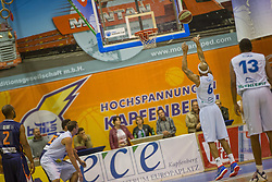 18.11.2015, Walfersamhalle, Kapfenberg, AUT, FIBA Europe Cup, ece Bulls Kapfenberg vs Le Havre, im Bild Shawn Ray (Bulls Kapfenberg) // during the FIBA Europe Cup, between ece Bulls Kapfenberg and Le Havre at the Sportscenter Walfersam, Kapfenberg, Austria on 2015/11/18, EXPA Pictures © 2015, PhotoCredit: EXPA/ Dominik Angerer