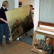 Conserveren + indexeren schilderijen gemeente Huizen