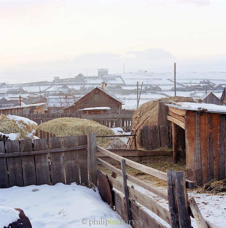 Khuzhir village, Olkhon Island, Siberia, Russia