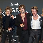 NLD/Amsterdam/20191114 - Uitreiking Esquires Best Geklede Man 2019, Son Mieux