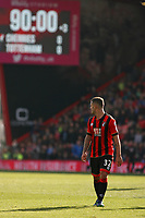Football - 2016 / 2017 Premier League - AFC Bournemouth vs. Tottenham Hotspur<br /> <br /> Bournemouth's Jack Wilshere has a look over his shoulder as the Referee Mr Craig Pawson blows the whistle for full time at Dean Court (The Vitality Stadium) Bournemouth<br /> <br /> COLORSPORT/SHAUN BOGGUST