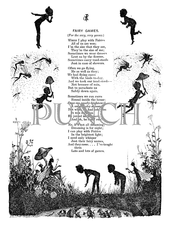 Fairy Games (illustrated poem).