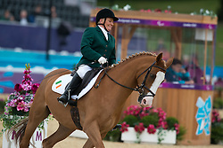 Byrne Eilish (IRL) - Youri<br /> Team Test - Grade II - Dressage <br /> London 2012 Paralympic Games<br /> © Hippo Foto - Jon Stroud