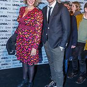 NLD/Amsterdam/20151026 - Lancering Linda TV, Sipke Jan Bousema en ......