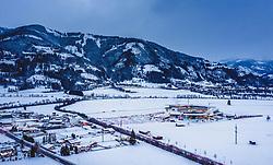 THEMENBILD - die Tauern SPA Kaprun in der Morgendämmerung, aufgenommen am 12. Dezember 2018 in Kaprun, Österreich // the Tauern SPA Kaprun at dawn, Kaprun, Austria on 2018/12/12. EXPA Pictures © 2018, PhotoCredit: EXPA/ JFK