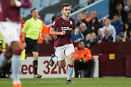 John McGinn of Aston Villa (7) during the EFL Sky Bet Championship match between Aston Villa and Rotherham United at Villa Park, Birmingham, England on 18 September 2018.