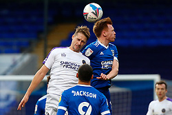 Jon Nolan of Ipswich Town heads the ball - Mandatory by-line: Phil Chaplin/JMP - 21/11/2020 - FOOTBALL - Portman Road - Ipswich, England - Ipswich Town v Shrewsbury Town - Sky Bet League One