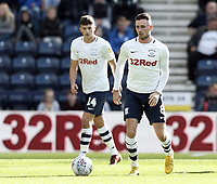 Preston North End's Alan Browne (right) and Jordan Storey<br /> <br /> Photographer Rich Linley/CameraSport<br /> <br /> The EFL Sky Bet Championship  - Preston North End v West Bromwich Albion- Saturday 29 September 2018 - Deepdale Stadium - Preston<br /> <br /> World Copyright © 2018 CameraSport. All rights reserved. 43 Linden Ave. Countesthorpe. Leicester. England. LE8 5PG - Tel: +44 (0) 116 277 4147 - admin@camerasport.com - www.camerasport.com