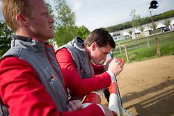 Bruynseels Niels, Philippaerts Olivier, (BEL)<br /> Furusiyya FEI Nations Cup of Belgium<br /> Longines Spring Classic of Flanders - Lummen 2015<br /> © Hippo Foto - Dirk Caremans<br /> 01/05/15