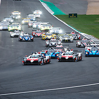The start of the Silverstone 6H on 19/08/2018