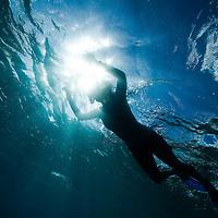 Snorkeling Makua, Oahu, Hawaii