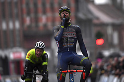 March 1, 2017 - Dour, Belgique - DOUR, BELGIUM - MARCH 1 : VAN KEIRSBULCK Guillaume (BEL) Rider of Wanty - Groupe Gobert, KIRCH Alex (LUX) Rider of WB Veranclassic AquaProtect during the 49th Grand Prix Samyn cycling race with start in Quaregnon and finish in Dour on March 01, 2017 in Dour, Belgium, 1/03/2017 (Credit Image: © Panoramic via ZUMA Press)