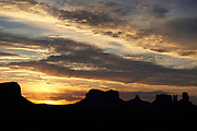 Sunrise, Monument Valley, Navajo Tribal Park, Utah-Arizona border