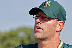 04 August 2018: Kyle Farnsworth.   Legends Game for the Miracle League at Corn Crib Stadium on the campus of Heartland Community College in Normal Illinois<br /> <br /> Game featured retired MLB players from the ST. Louis Cardinals and the Chicago Cubs...  Derek Lee, Bobbie Dernier, Kyle Farnsworth, Les Lancaster, Ray Lankford, Kerry Robinson, Jim Edmonds, and Aramis Ramirez