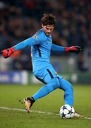 Roma goalkeeper Ramses Alisson