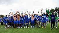 Jubel Aufstieg TSG Hoffenheim<br /> 2. Bundesliga TSG 1899 Hoffenheim - SpVgg Greuther Fuerth<br /> <br /> Norway only