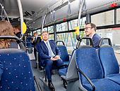 Koning bezoekt OV-Bureau en Publiek Vervoer