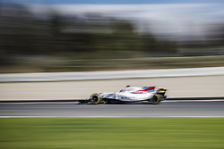 March 1, 2017 - Montmelo, Catalonia, Spain - LANCE STROLL (CAN) drives in his Williams Mercedes FW40 on track during day 3 of Formula One testing at Circuit de Catalunya (Credit Image: © Matthias Oesterle via ZUMA Wire)