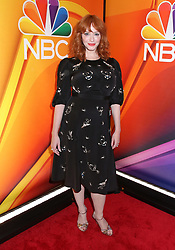 NBC 2019 Upfront held at The Four Seasons Hotel on May 13, 2019 in New York City, NY © Steven Bergman/AFF-USA.COM. 13 May 2019 Pictured: Christina Hendricks. Photo credit: Steven Bergman/AFF-USA.COM / MEGA TheMegaAgency.com +1 888 505 6342