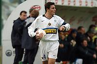 Fotball<br /> Serie A Italia<br /> Foto: Graffiti/Digitalsport<br /> NORWAY ONLY<br /> <br /> MESSINA  27-11-2005<br /> <br /> MESSINA v INTER<br /> <br /> JAVIER ZANETTI