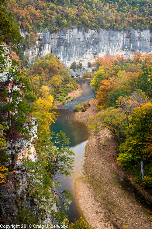 This peaceful image of the Buffalo River at Steel Creek was the Cover Photo for The Nature Conservancy in Arkansas 2019 Annual Report.