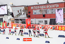 22.12.2019, Nordische Arena, Ramsau, AUT, FIS Weltcup Nordische Kombination, Langlauf, im Bild Feature // Feature during Cross Country Competition of FIS Nordic Combined World Cup at the Nordische Arena in Ramsau, Austria on 2019/12/22. EXPA Pictures © 2019, PhotoCredit: EXPA/ Dominik Angerer