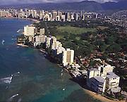 Gold Coast, Waikiki, Oahu, Hawaii<br />