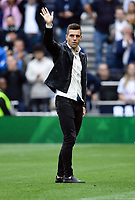 Football - 2019 / 2020 Premier League - Tottenham Hotspur vs. Aston Villa<br /> <br /> Tottenham Hotspur's Giovani Lo Celso introduced to the crowd before the game, at The Tottenham Hotspur Stadium.<br /> <br /> COLORSPORT/ASHLEY WESTERN