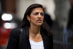 © London News Pictures. 01/07/2013. London, UK.  Ami Denborg, sister of  Anni Dewani, arriving at Westminster Magistrates Court in London to attend the extradition hearing of Shrien Dewani on July 1, 2013. Shrien Dewani, is accused of arranging the contract killing of wife Anni in Cape Town in November 2010. Photo credit : Ben Cawthra/LNP