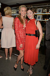 The UK Premier of Johnnie Walker Blue Label's 'Gentleman's Wager' - a short film starring Jude Law was held at The Bulgari Hotel & Residences, 171 Knightsbridge, London on 22nd July 2014.<br /> Picture Shows:-Left to right, NOELLE RENO and CAMILLA RUTHERFORD.