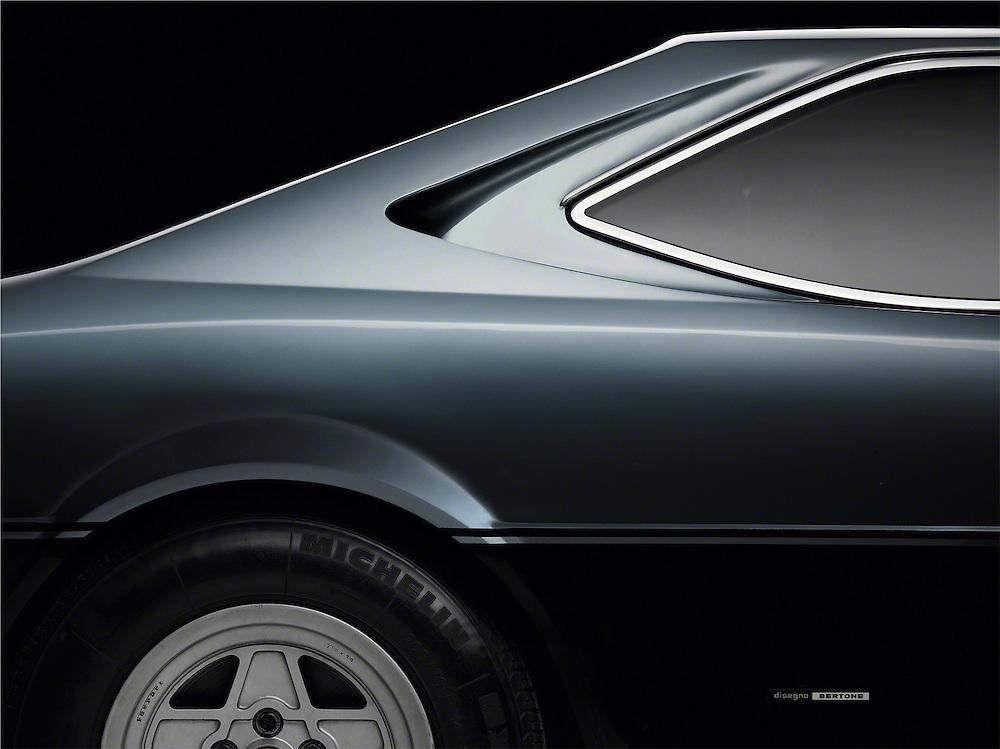 Right rear quarter of Ferrari 308 GT$