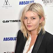Sophie Kennedy Clark attends Raindance Film Festival Gay Times Gala screening - George Michael: Freedom (The Director's Cut) London, UK. 4th October 2018.