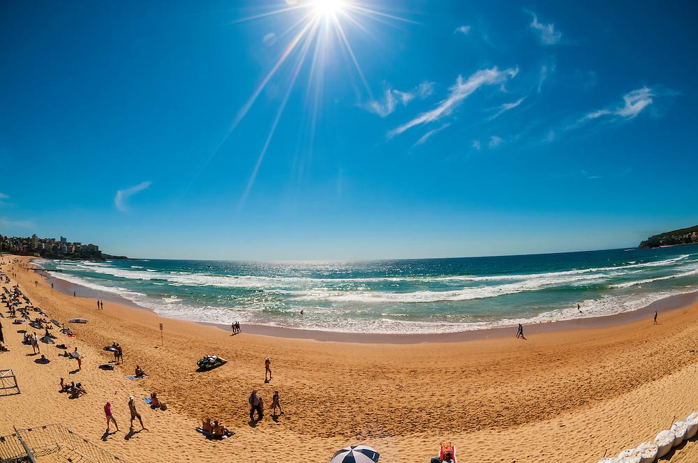 Manly Beach, Sydney, New South Wales, Australia.