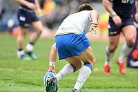 Try of Tommaso Allan Italy<br /> Roma 17-03-2018, Stadio Olimpico<br /> Rugby 6 Nations Tournament <br /> Italia - Scozia / Italy - Scotland<br /> <br /> Foto Antonietta Baldassarre Insidefoto